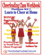 Learn to Cheer at Home Cheerleading Program - PLATINUM Program