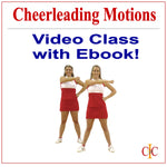 Cheerleading Motions Video Class Plus Ebook Program - Cheer and Dance On Demand