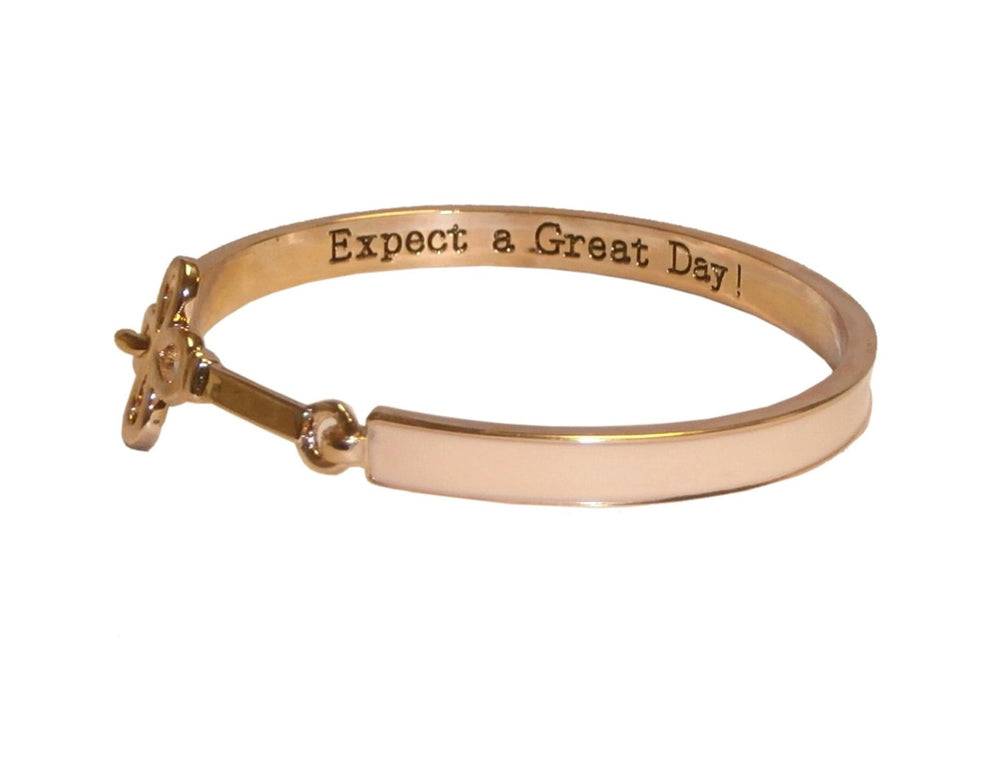 Classy Empowerment Motivational Brangle Bracelet - Cheer and Dance On Demand