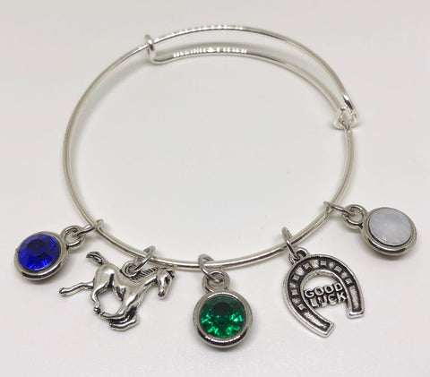 Coral Springs High - School Charm Bracelet - COLTS PRIDE