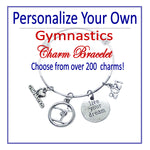 Create Your Own Gymnastics Charm Bracelet