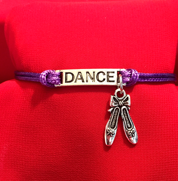 Dance Bar Charm Bracelet 6 COLORS