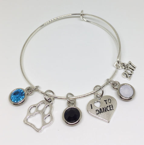 Coral Glades High School Charm Bracelet - Dance