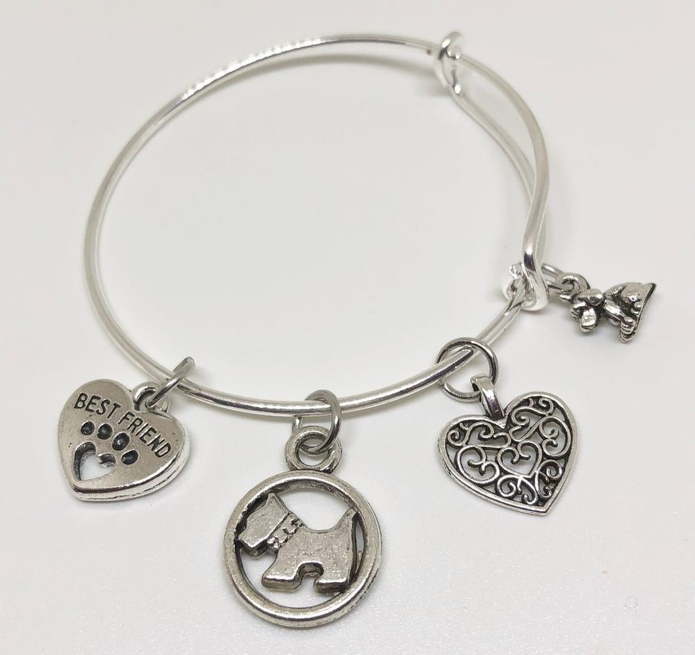 Dog Charm Bracelet - Best Friend