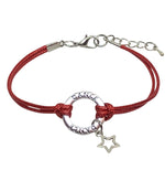 Dance Star Charm Bracelet - 6 COLORS - Cheer and Dance On Demand