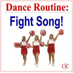 FIGHT SONG - Dance Rountine Instruction - Cheer and Dance On Demand