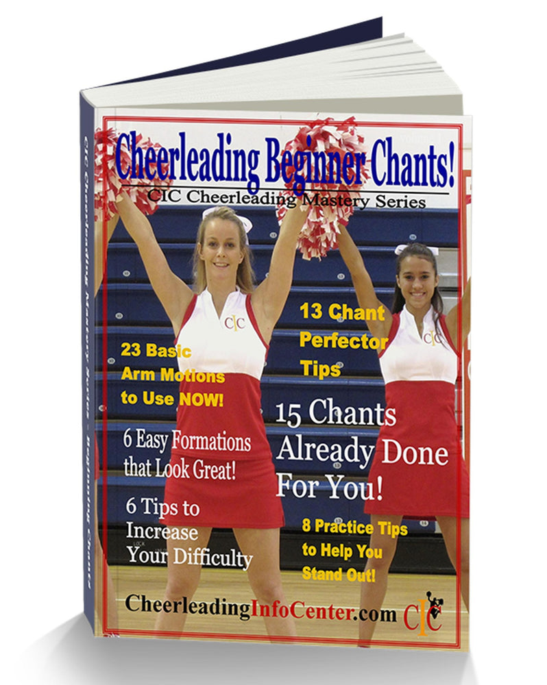 Cheerleading Beginning CHANTS Ebook, Volume 1 - CIC Cheerleading Mastery Series