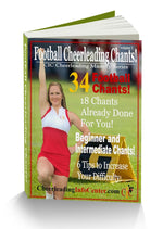 Cheerleading Football Chants Ebook - Cheer and Dance On Demand