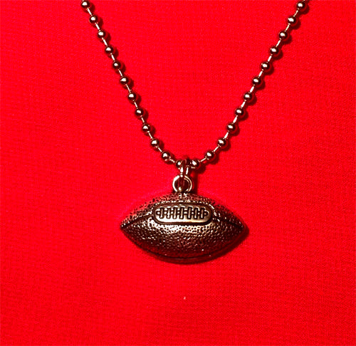Football Charm Necklace
