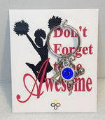 Cheerleading Key Chain Personalized, Cheerleading Accessories