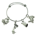 Cheerleading Charm Bracelet - CUSTOM Team Mascot