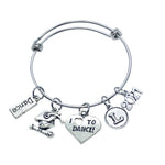 Dance Graduate Charm Bracelet - 2021 - Cheer and Dance On Demand