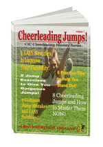 Cheerleading Jumps Ebook - How to Do Cheerleading Jumps - Cheer and Dance On Demand