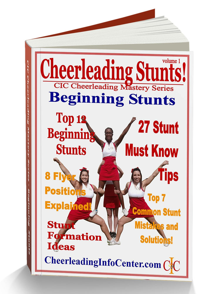 Cheerleading Beginning Stunts Ebook - How to Do Cheerleading Stunts