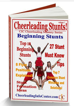 Cheerleading Jumps, Cheerleading Stunts and More! - Cheerleading Mastery Series 3 Book Set - Cheer and Dance On Demand