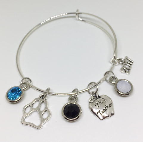 Coral Glades High School Charm Bracelet - Teacher