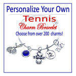 Create Your Own Tennis Charm Bracelet - Cheer and Dance On Demand