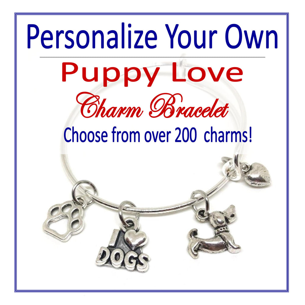Create Your Own Puppy Love Charm Bracelet - Cheer and Dance On Demand