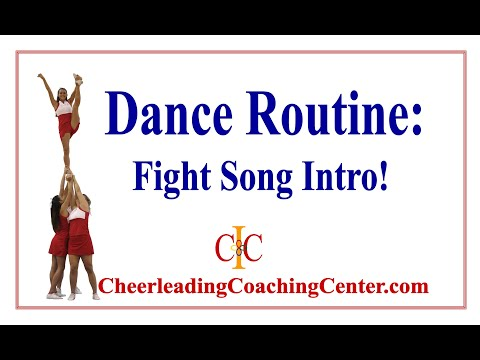 FIGHT SONG - Dance Rountine Instruction