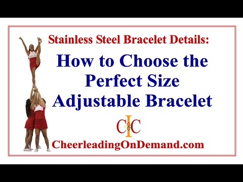 2020 Cheerleading Graduate Bangle Charm Bracelet