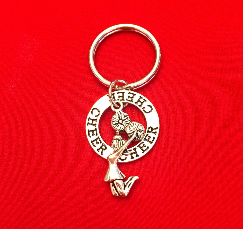 Cheerleading Key Chain, Cheerleading Accessories - Cheer and Dance On Demand