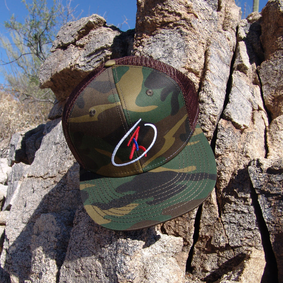 The Operator Camo Adjustable Shooter Cap