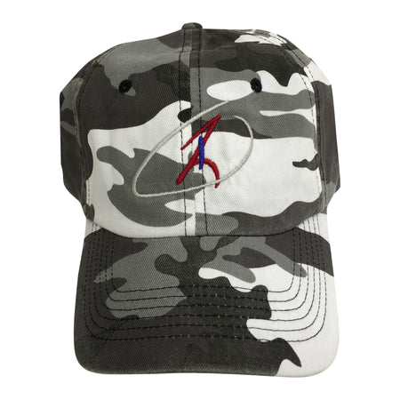 Snow Camo Adjustable Cap
