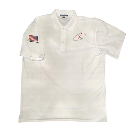 White Performance Polo