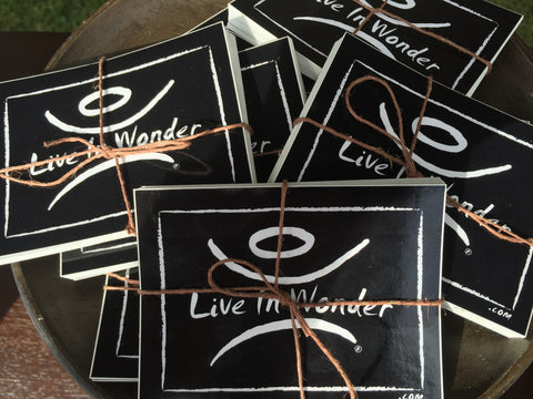 Live In Wonder Sticker Bundle