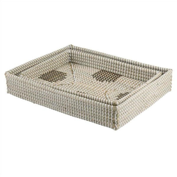 Coosan Cross and Valley 2 Piece Seagrass Tray Set