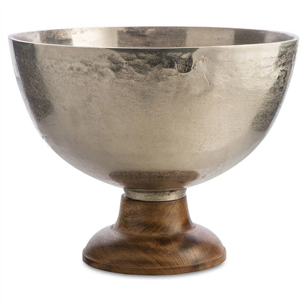 Corliss Aluminium & Timber Goblet Bowl