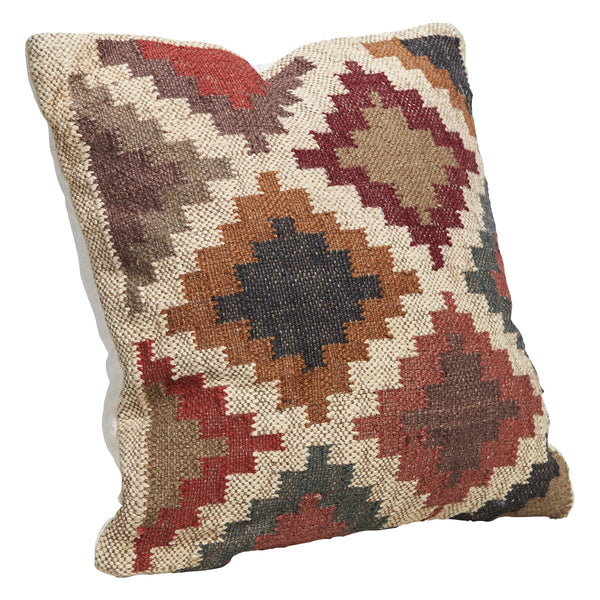 Kilm Checkered Fabric Scatter Cushion