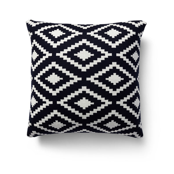 Aztec Jacquard Cotton Knit Cushion