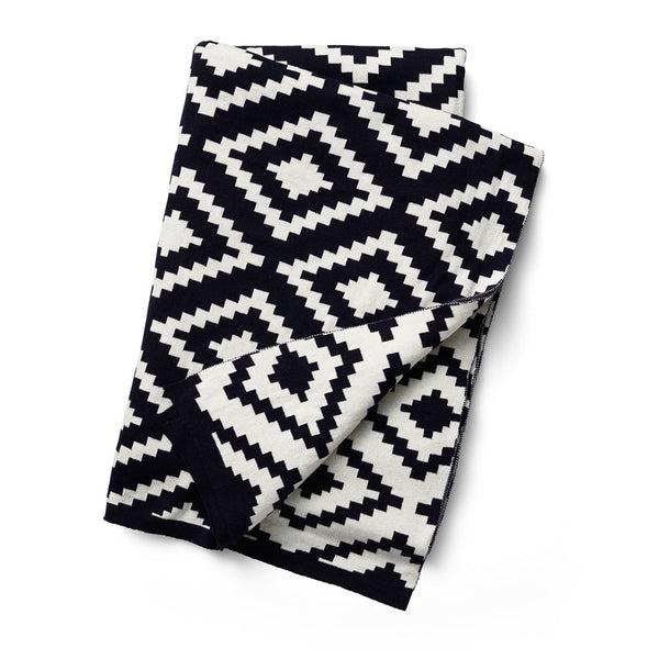 Aztec Jacquard Revisible Throw