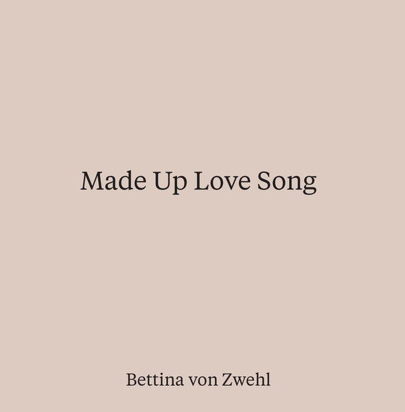 Made Up Love Song book