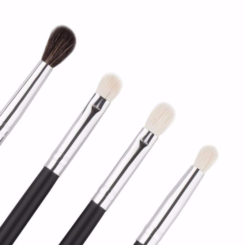 4 Pc Professional Eye Essential Brush Set