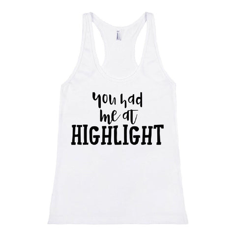 You Had Me At Highlight Tank (5 Colors Available)