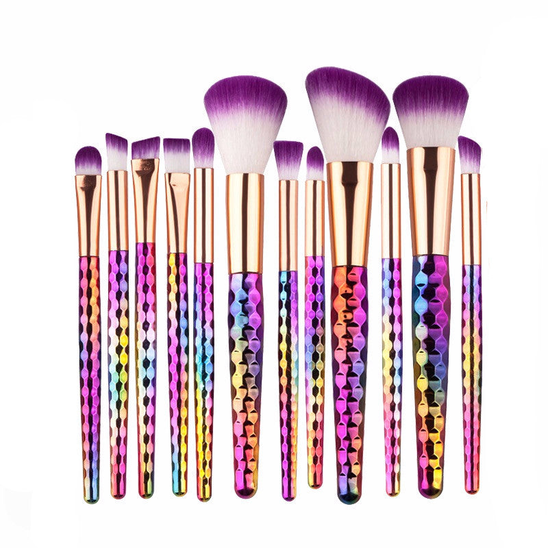 12 Pc Prismatic Bella Brushes