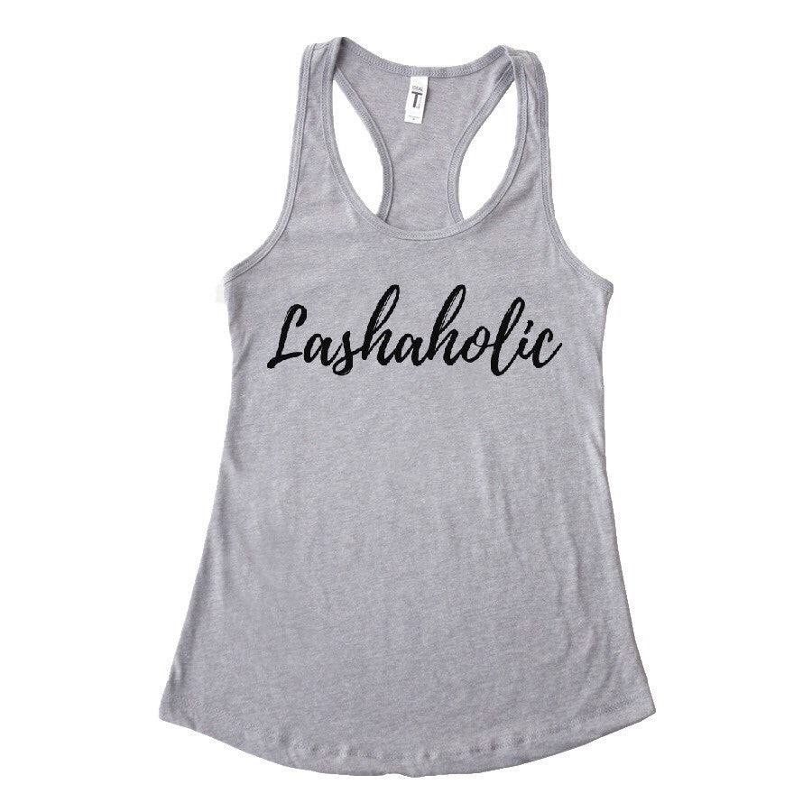 Lashaholic Tank (5 colors available)