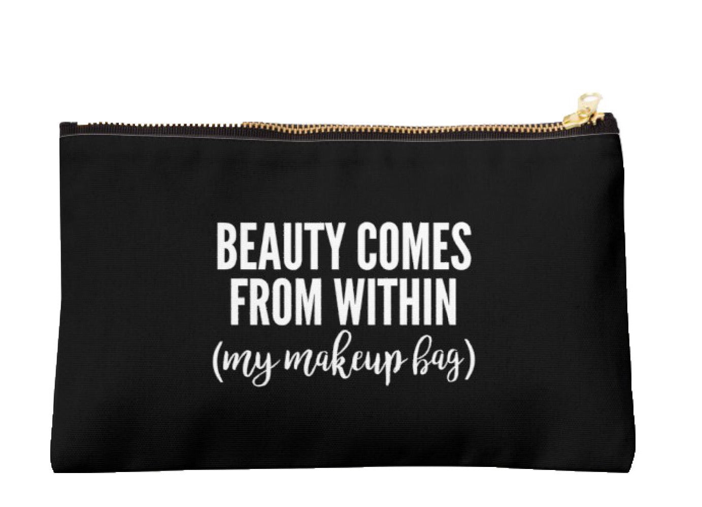 Beauty Comes From Within Classic Pouch