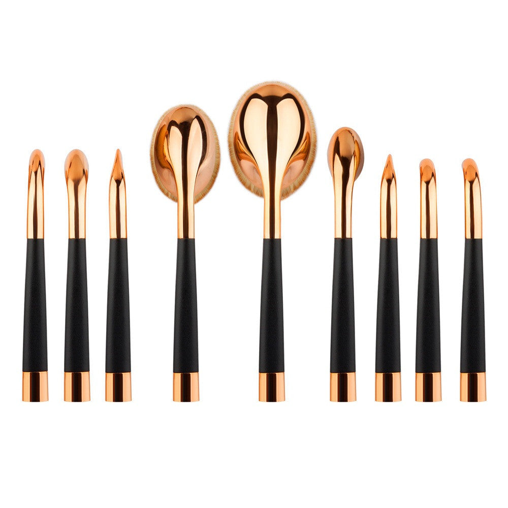 Premium 9 Pc Professional Brush Set