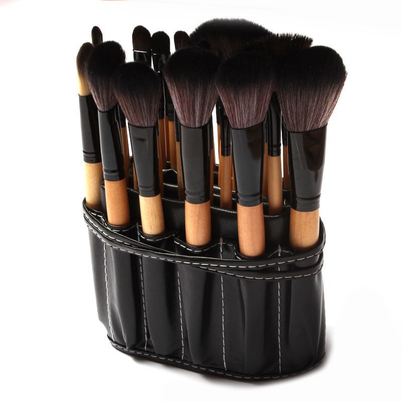 32 Pc Professional Makeup Brush Set w Carrying Case (2 colors available)