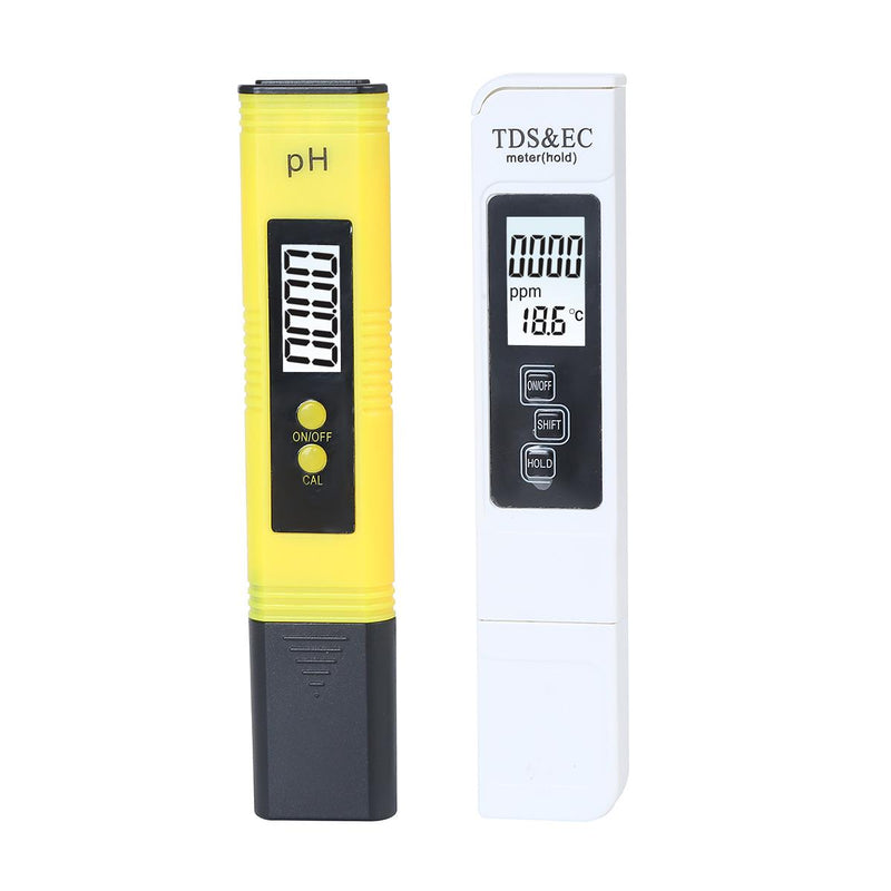 Water TDS Meter, PH, EC, Temperature