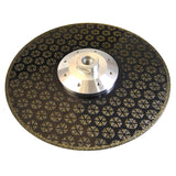 141058 Ceramic Cutting Grinding Diamond Blade 230Mm Electroplated With Flange M14