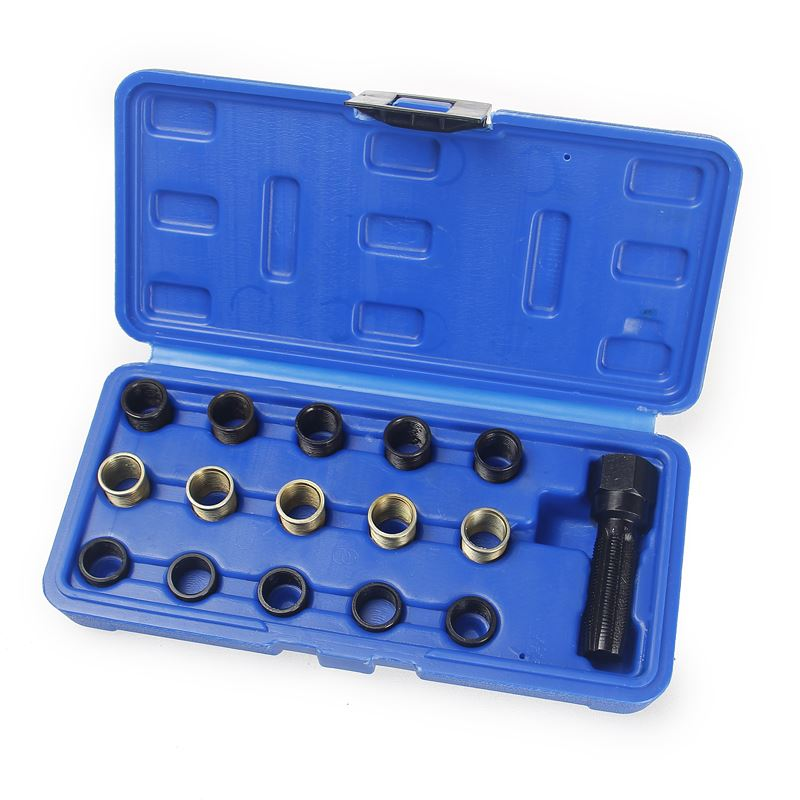 Spark Plug Screw Thread Repair Set M14 16PCs