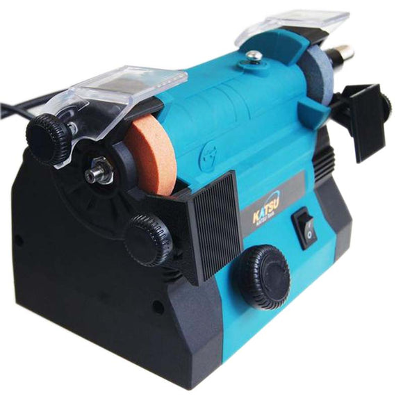 100094  100W Mini Bench Grinder 50Mm With Flexible Drive Shaft