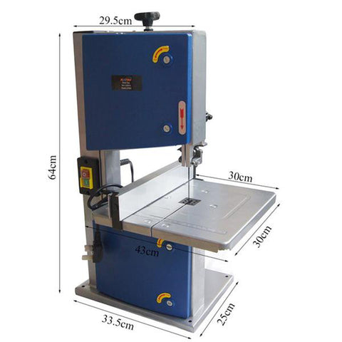 100551  Electric Benchtop Bandsaw 200Mm 250W Tilt Table Woodworking
