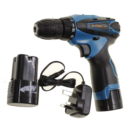102379  16.8V Lithium-Ion Rechargeable Drill Screwdriver Twin Battery