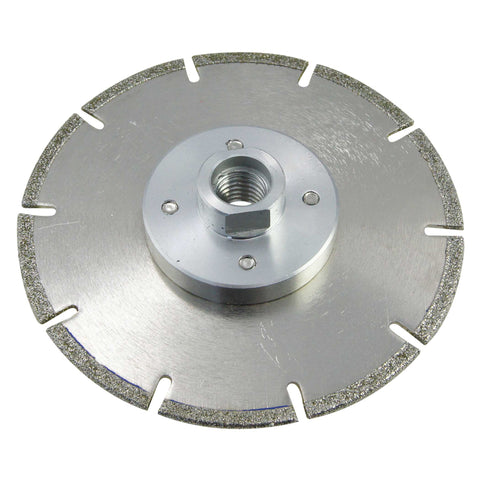 14104037 Professional Electro Plated Diamond Cutting & Grinding Disc 115MM w/flange