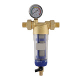 150203 Water Filter Stainless Steel 60 Micron with Gauge
